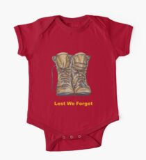 Lest We Forget One Piece - Short Sleeve