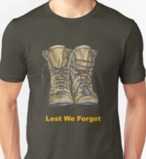 Lest We Forget Unisex T-Shirt