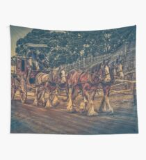 Clydesdales Wall Tapestry