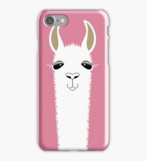 LLAMA PORTRAIT #5 iPhone Case/Skin
