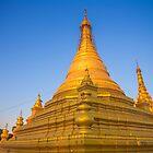 Myanmar. Mandalay. Sandamuni Pagoda. Stupa. by vadim19