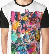 Cool Graffiti Collage 3 Graphic T-Shirt