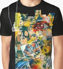 Cool Graffiti Collage 1 Graphic T-Shirt