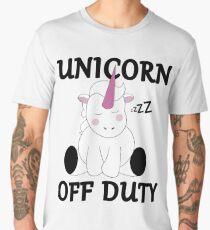 Unicorn Off Duty Men's Premium T-Shirt