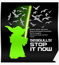 Seagulls Stop It Now! Poster