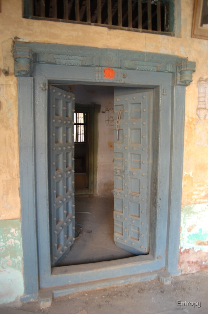Old House Entrace by Entropy
