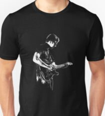 The Guitar Man B&W Unisex T-Shirt