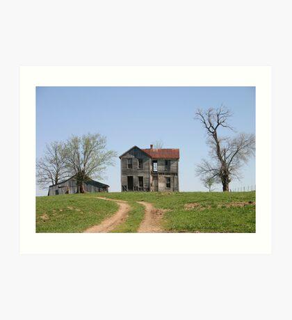 Missouri Country Ruins Art Print