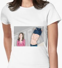 Jeff x Annie Women's Fitted T-Shirt
