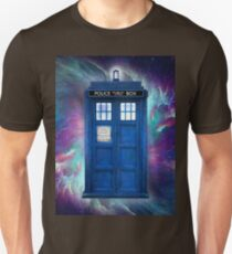 Doctor Who Tardis in Space T-Shirt
