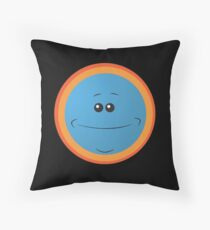 Meeseeks - Rick and Morty Throw Pillow