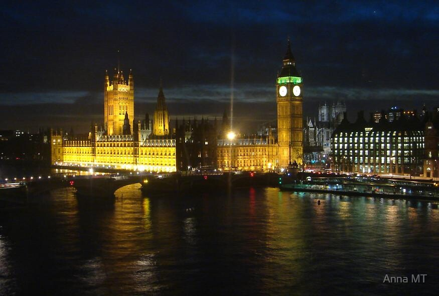 Colours of London by Anna MT