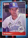 276 - Ed Nunez by Foob's Baseball Cards