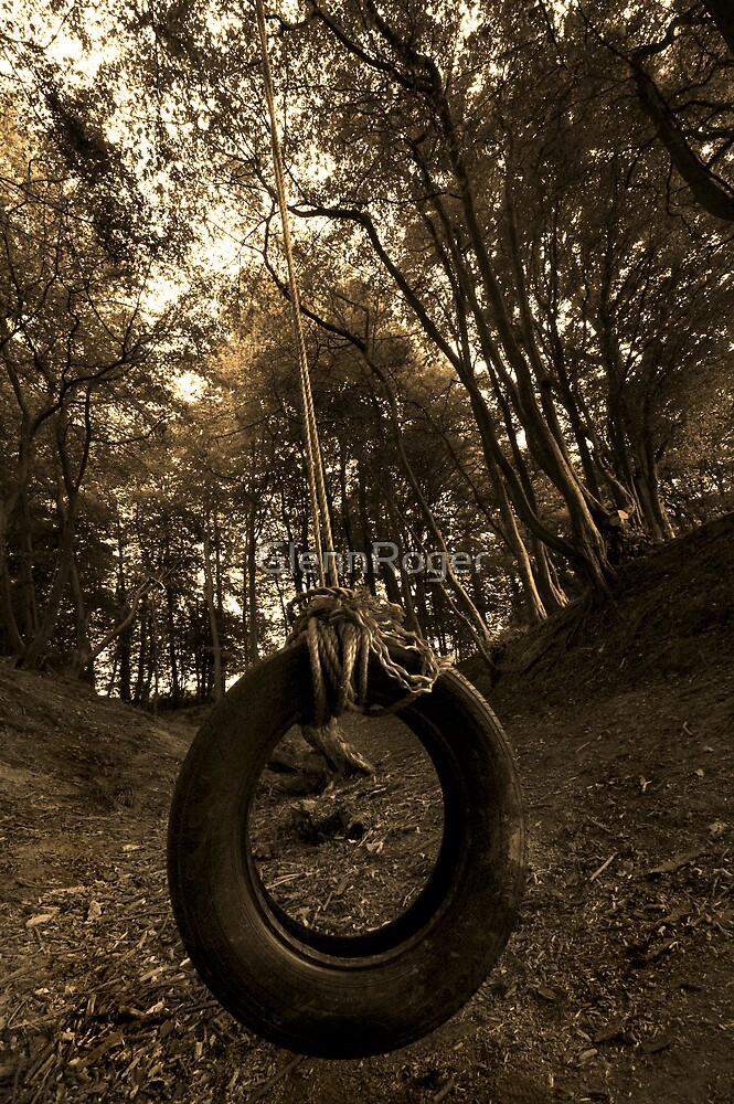Tyre swing by GlennRoger