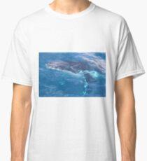 Whale through water Classic T-Shirt