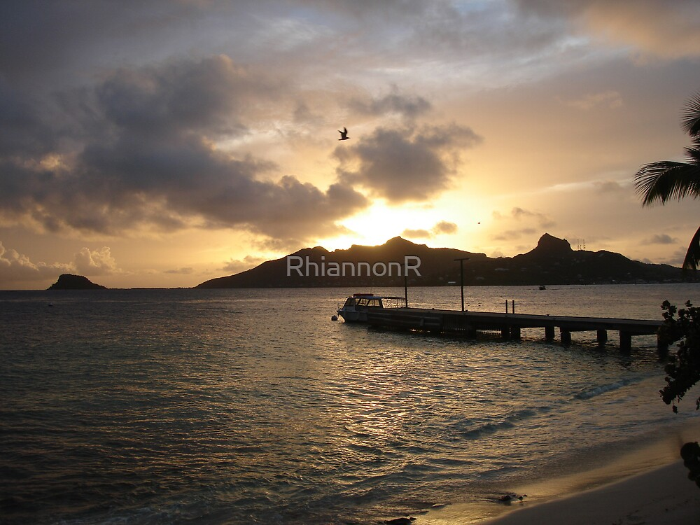 Over the island by RhiannonR