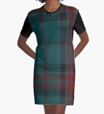 Cornwall Tartan  Graphic T-Shirt Dress