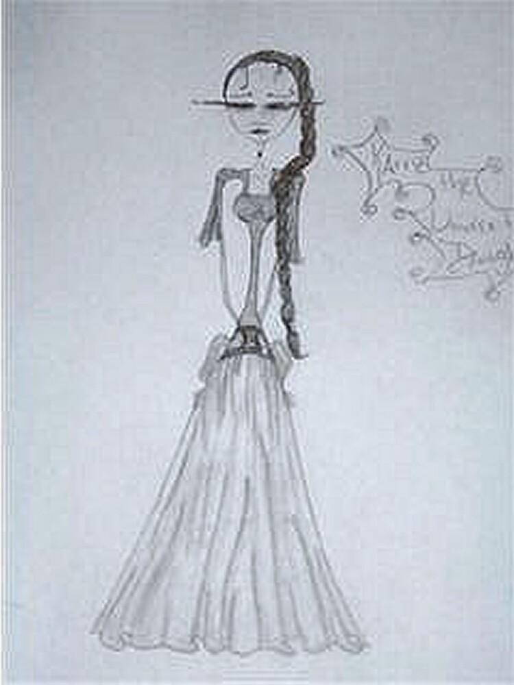 Karrie, the Undertaker's Daughter by Raechel deMink