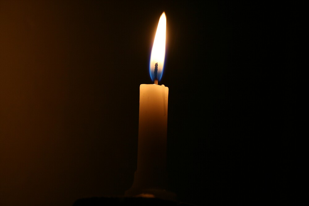 Candle light by Thomas Entwistle