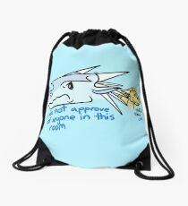 Casual Winter and Qibli Drawstring Bag