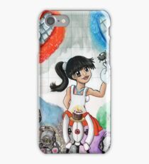 Chell and Friends iPhone Case/Skin