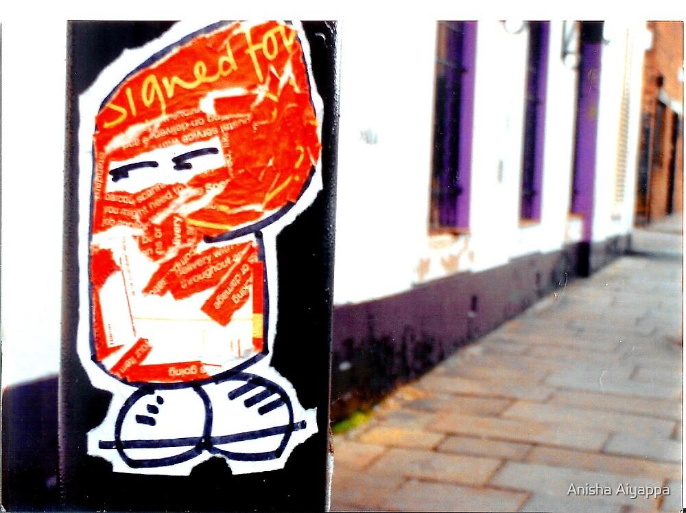 postman by Anisha Aiyappa