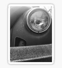 Volkswagen Headlight and Bumper Sticker