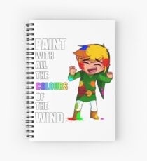 Wind Waker: Colours of the Wind Spiral Notebook