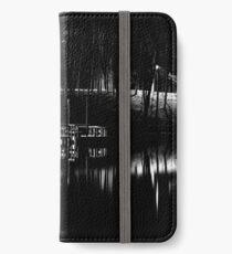Fishing Dock At Night 2017  iPhone Wallet/Case/Skin
