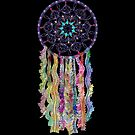 Watercolor Lace Dream Catcher by Cherie Balowski