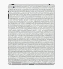 Game of Thrones // Dracarys Entire Chapter  iPad Case/Skin