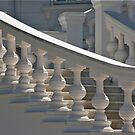 White Balustrade by phil decocco