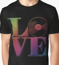 Vinyl Love Graphic T-Shirt