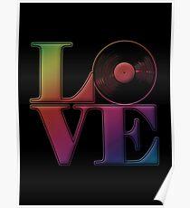 Vinyl Love Poster