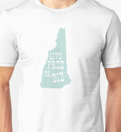 New Hampshire Slogan Unisex T-Shirt
