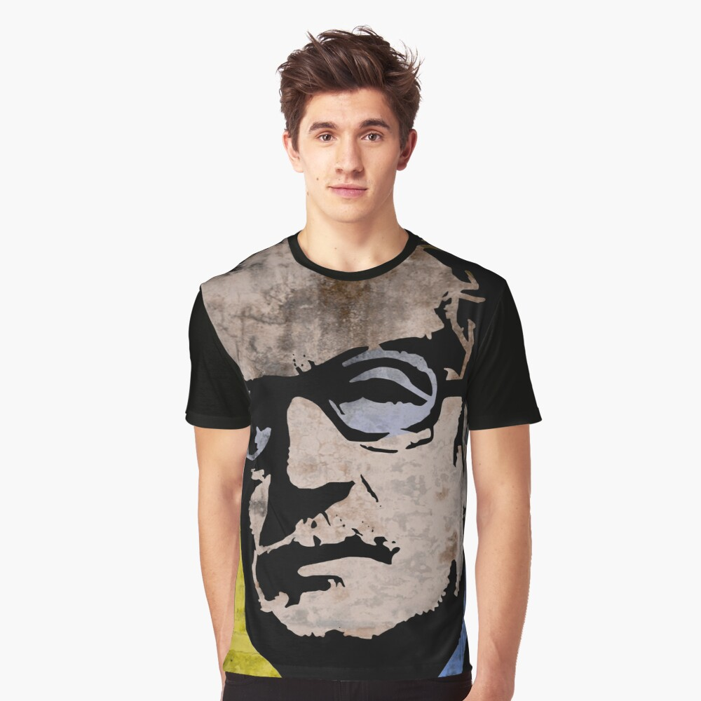 Salvador Allende  Graphic T-Shirt Front