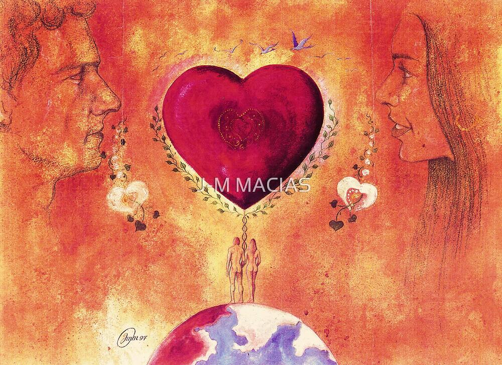 Les amoureux sont seul au monde.. by J-M MACIAS