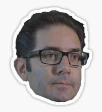 Endearing Jeff Kaplan Overwatch Team Sticker