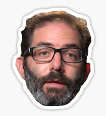 Bearded Jeff Kaplan Overwatch Team Sticker