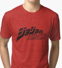 JJBA Logo Tri-blend T-Shirt