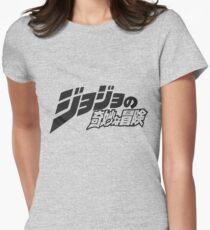JJBA Logo Women's Fitted T-Shirt