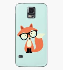 Cute Hipster Red Fox Case/Skin for Samsung Galaxy