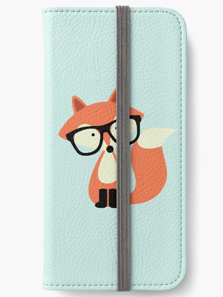 Netter Hipster Red Fox von heartlocked