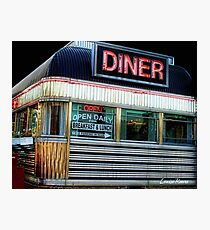 Freehold Diner Photographic Print