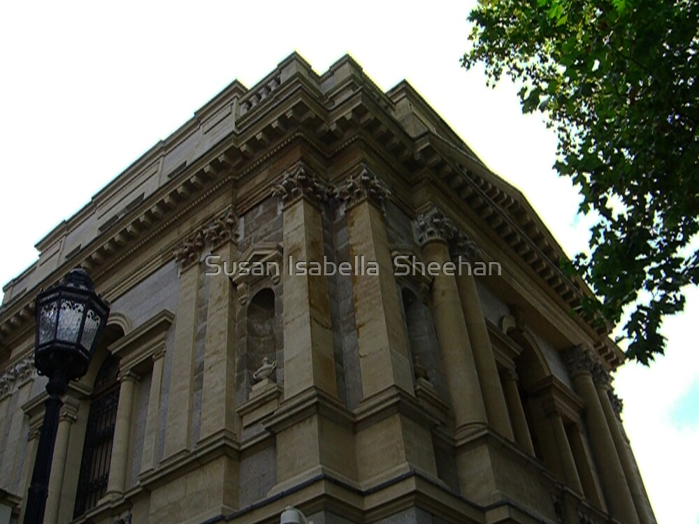 The National Museum - Dublin, Ireland by Susan Isabella  Sheehan