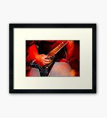 Guitar Hero Framed Print