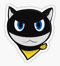 Persona 5 - Morgana (black) Sticker