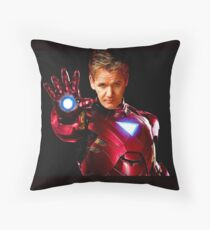 I Am Iron Ramsay! Throw Pillow