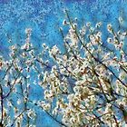 Blossom and Blue Sky In Monet Style by taiche