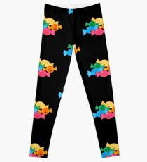 Happy Hard Candies Sweets Candy  Leggings
